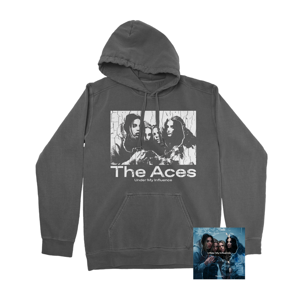The Aces - Under My Influence CD/Hoodie Bundle