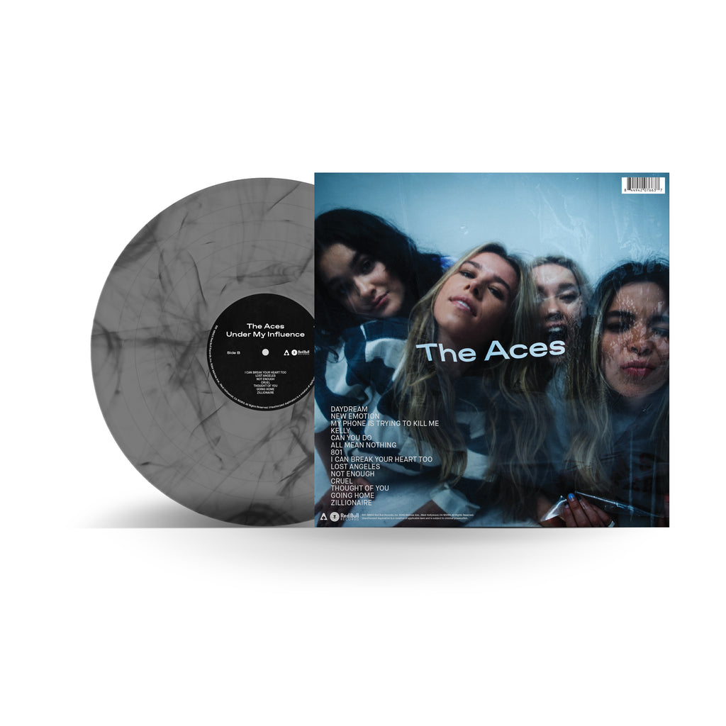 The Aces - Under My Influence Smokey Marble 12 Inch Vinyl (RBR Exclusive)