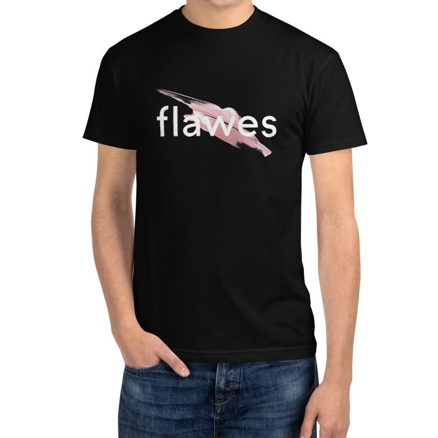 Flawes - Brush Stroke T-Shirt (Black)