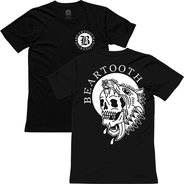 Beartooth - Skull Wolf T-Shirt