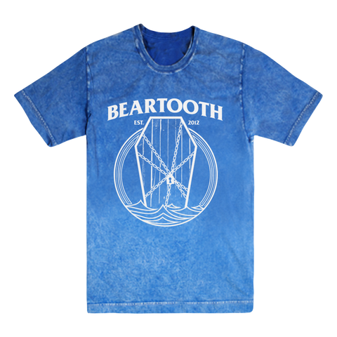 "Beartooth ""Coffin"" (Royal) Volcano Wash T-Shirt"
