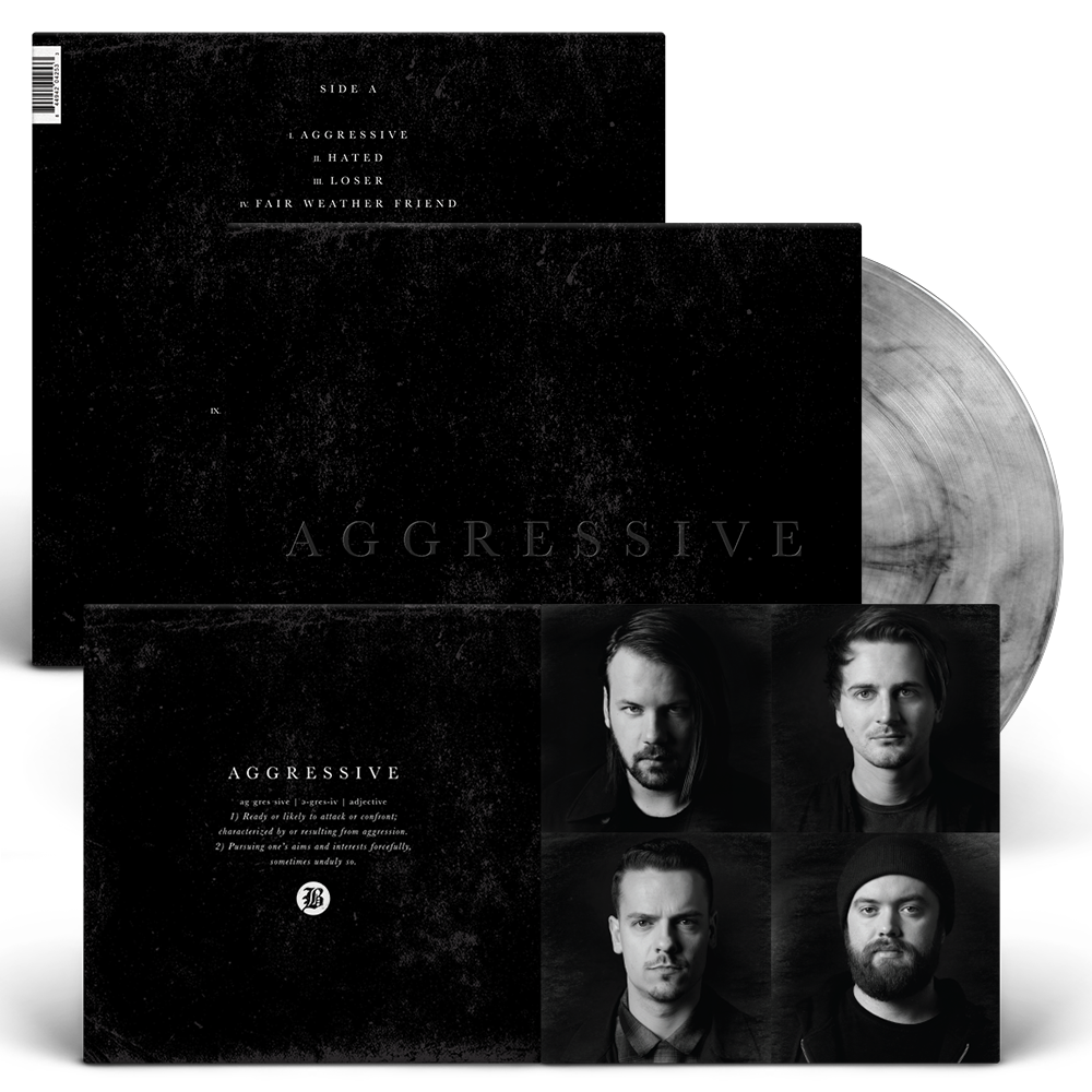 Beartooth Aggressive Vinyl LP