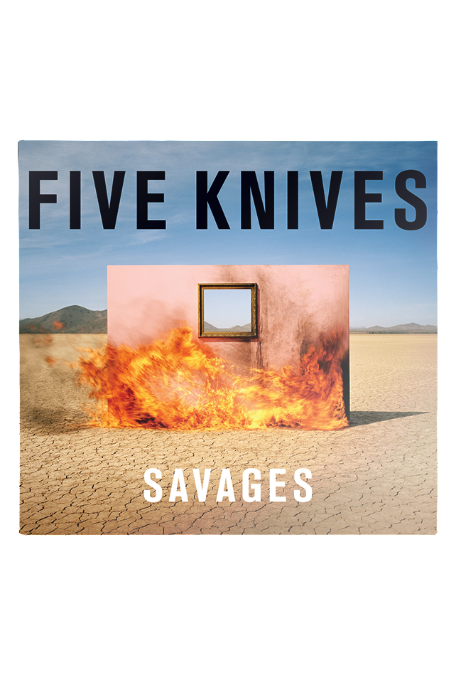 Five Knives - Savages CD