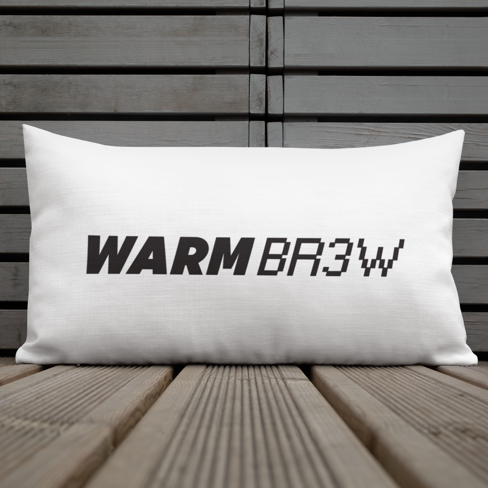 Warm Brew - Premium Pillow
