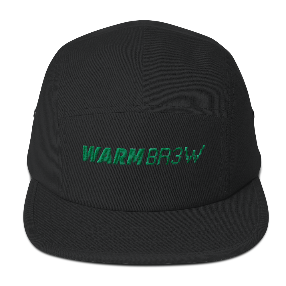 Warm Brew - Logo 5 Panel Camper