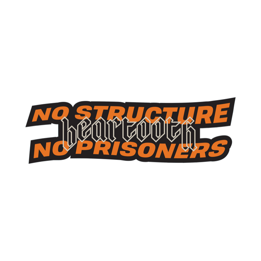 Beartooth - No Structure Sticker