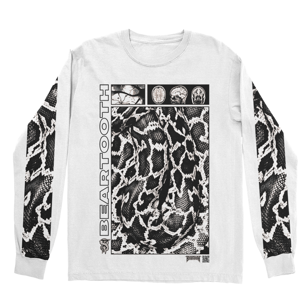 Beartooth - Scales White Long Sleeve
