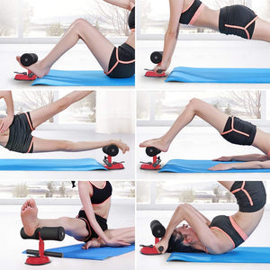 Sit Up Bar Floor Assistant for Abdominal Exercises