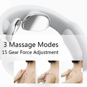 Smart Electric Neck Massager for Pain Relief & Relaxation