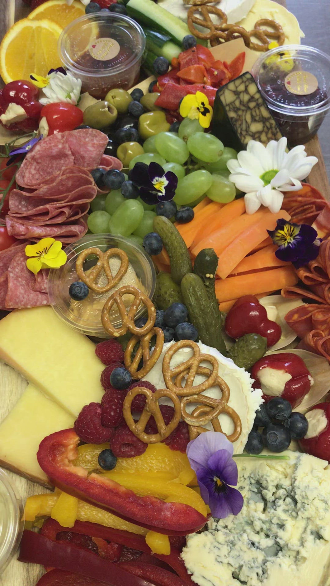 Deluxe Divine Cheese and Charcuterie