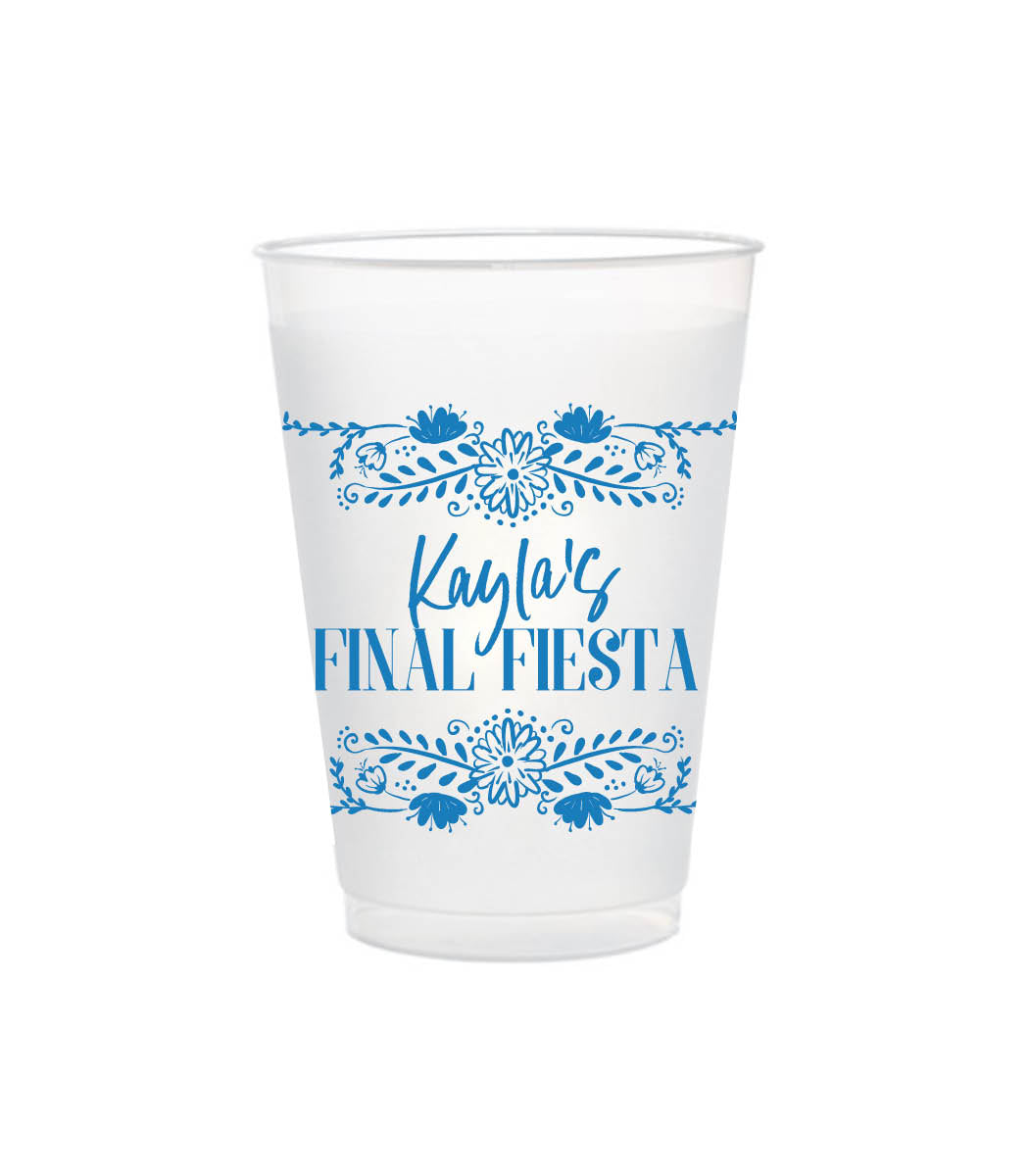 Final Fiesta | Shatterproof Cups