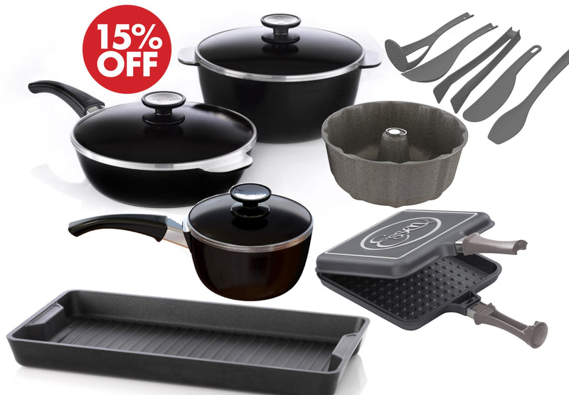 ALL AMERICAN COOKWARE 7-PIECES SET