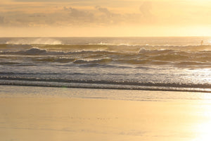 Sunrise at Noosa Beach on the Sunshine Coast of QLD