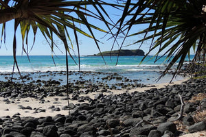 Fingal Head and Dreamtime Beach, natural beauty amongst ancient lava flows