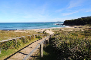 A sunny day at beautiful Pretty Beach on the south coast of NSW