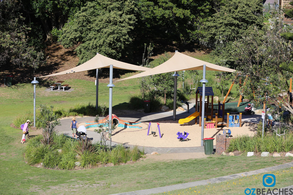 Kids playground at Bronte Beach NSW