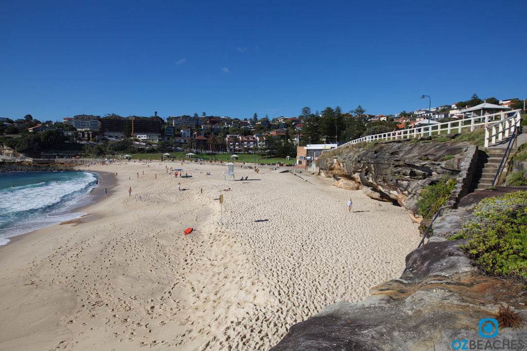 View of Bronte Beach from the northern end