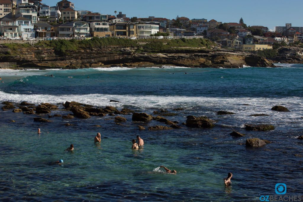 Natural lagoon at Bronte Beach