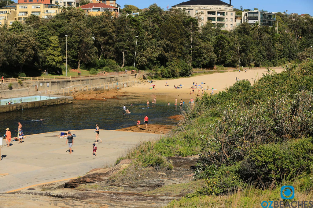 Clovelly Beach is one of Sydneys smallest stretches of sand at 60metres
