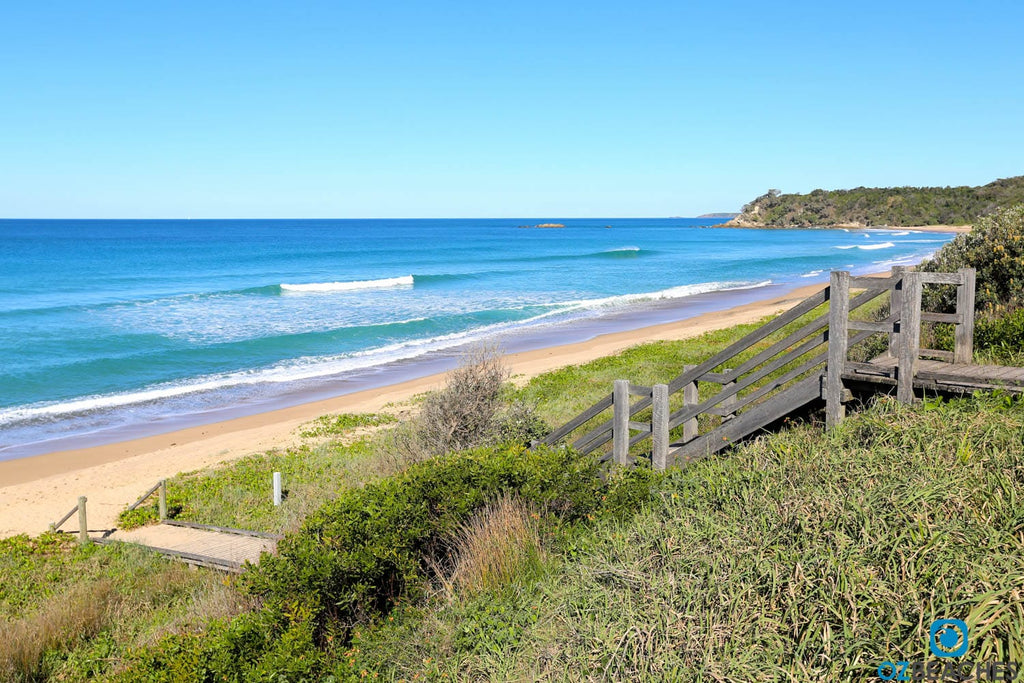 Picture Perfect Day At Sapphire Beach Coffs Harbour