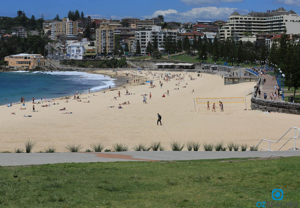 Coogee Beach on a relatively uncrowded sunny day