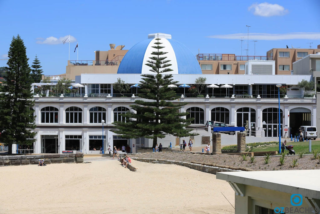 Coogee Beach Pavilion, a local establishment owned by Merivale
