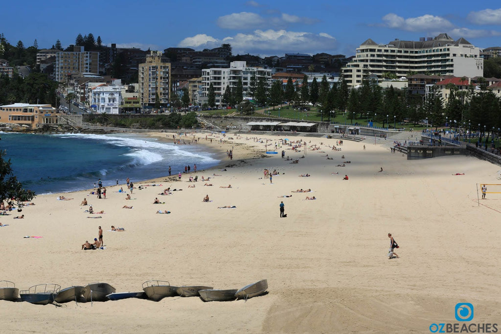 A typical sunny day at Coogee Beach