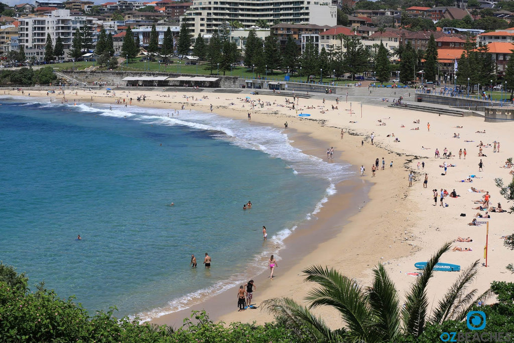 Coogee Beach, view from the northern end looking south