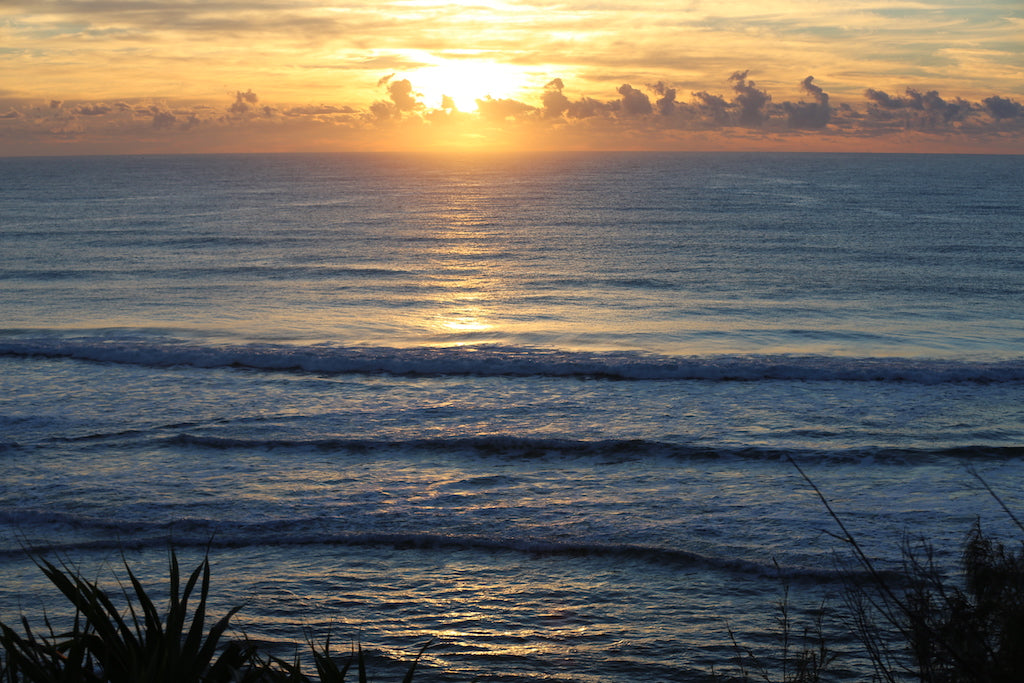 Beautiful sunrise at Coolum Beach Sunshine Coast QLD