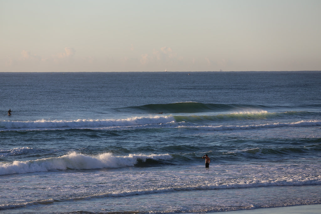 Pergian is one of the better surfing beaches on the Sunshine Coast of QLD
