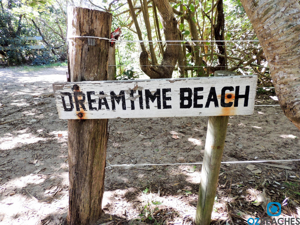 Dreamtime Beach at Fingal Head is a lovely natural and scenic beach