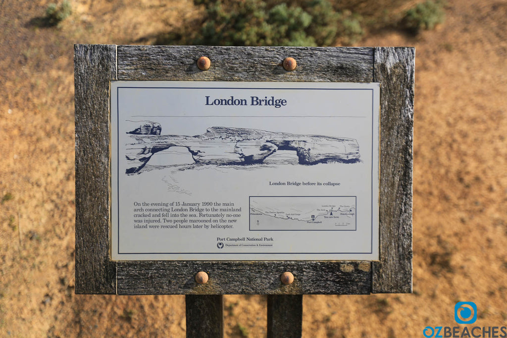 How London Bridge fell down at the Great Ocean Road Victoria