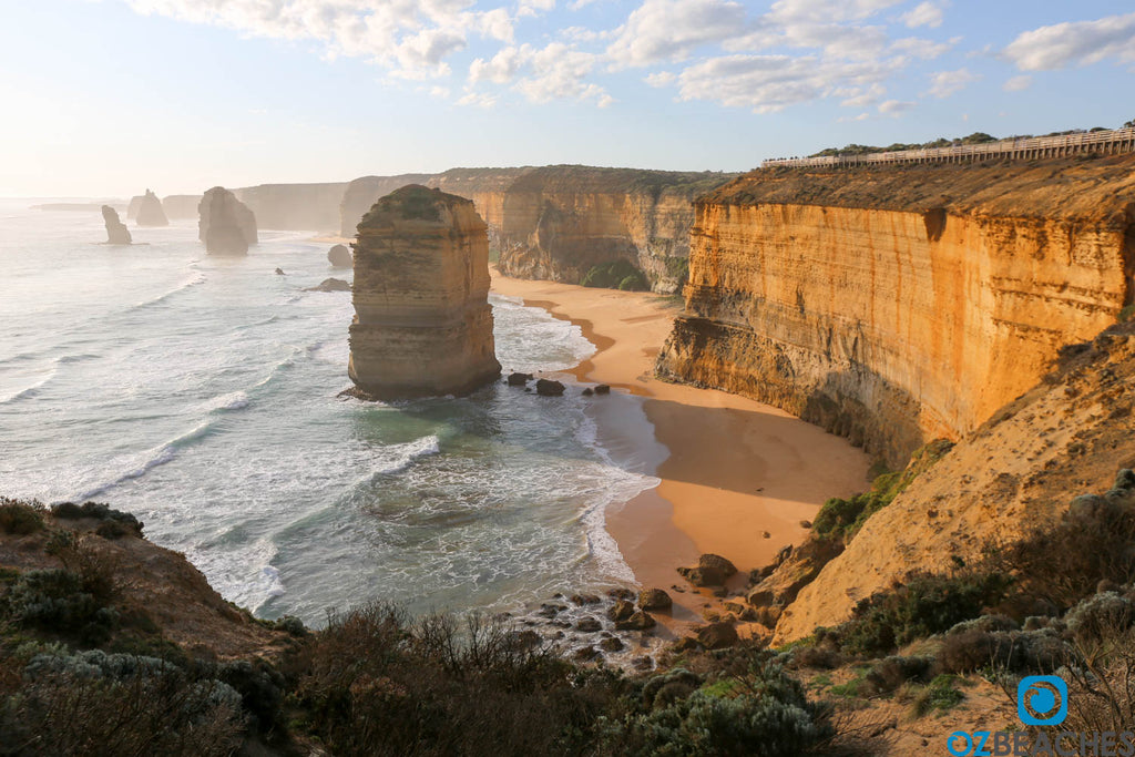 A misty afternoon at The Twelve Apostles