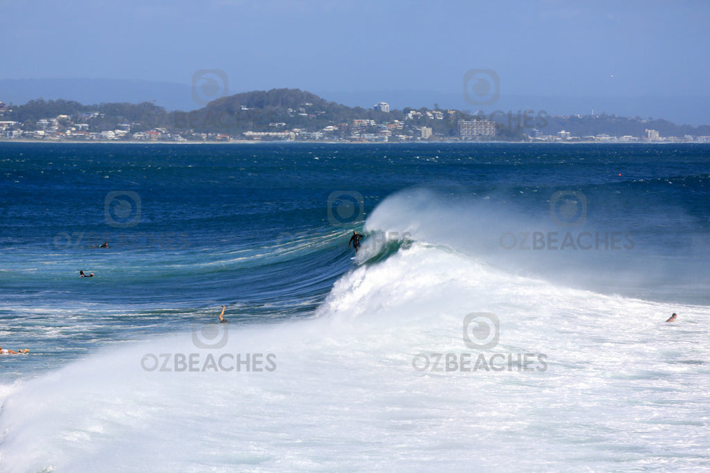 Greenmount Beach Cyclone Oma swell February 2019