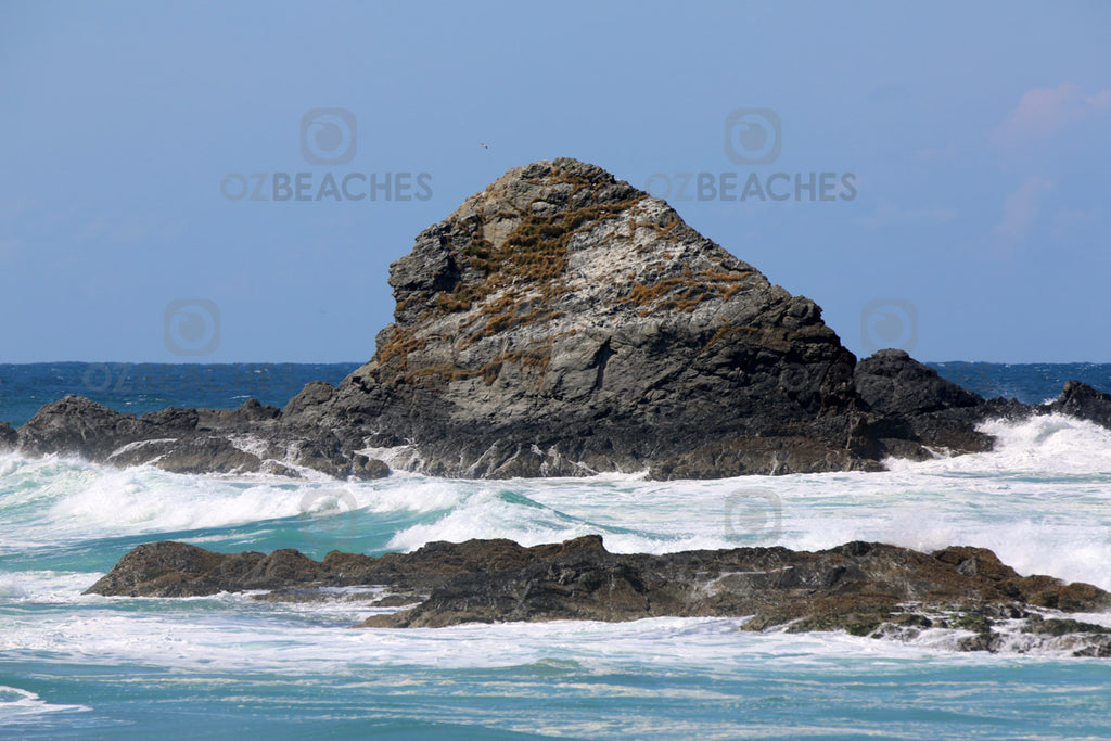 Three Sisters rocky outcrops at Broken Head
