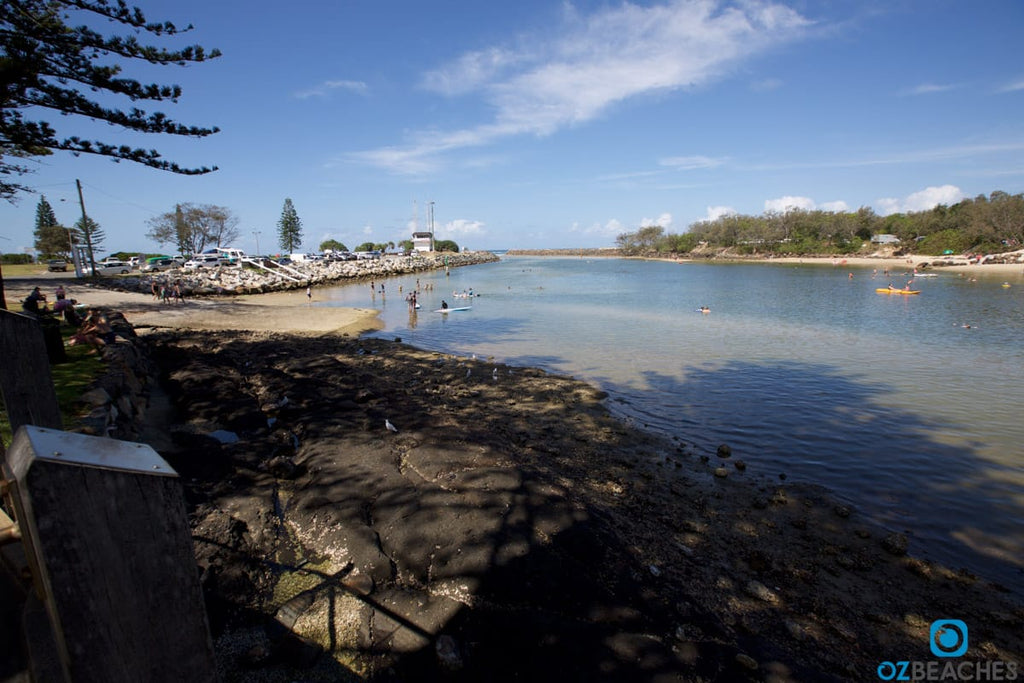 The boat ramp at Kingscliff Beach rivermouth