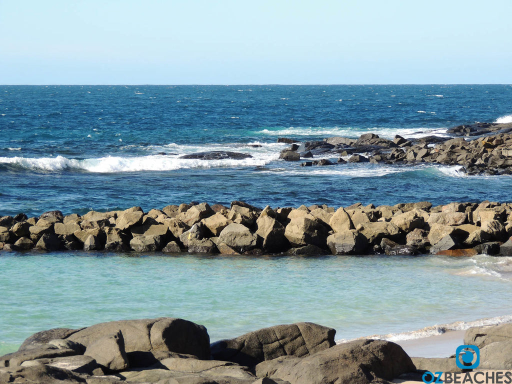 Man made rockpool at Kiola Beach - perfect for a swim