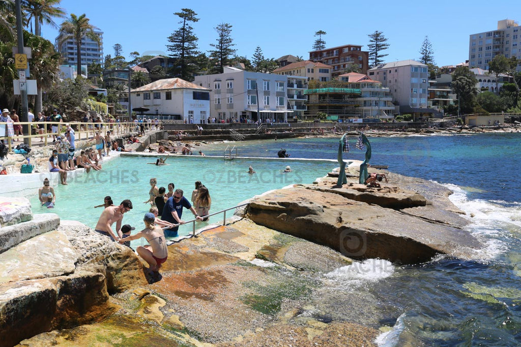 A popular rockpool near Manly Beach