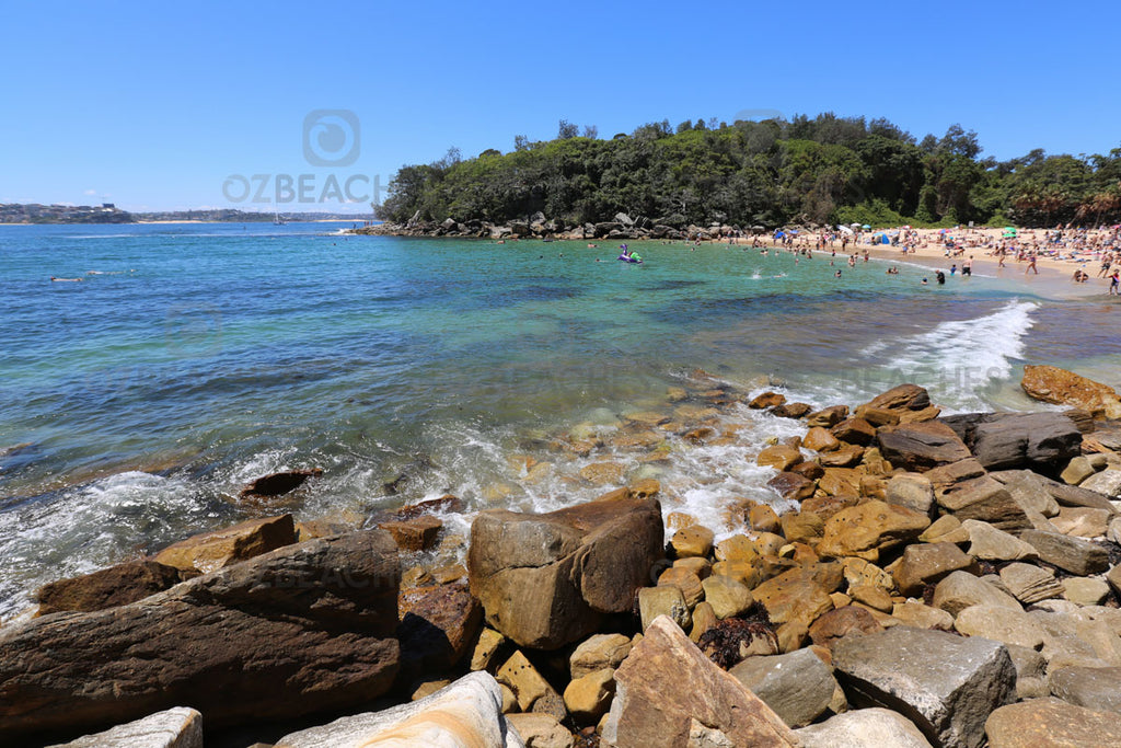 The ever calm waters of Shelly Beach