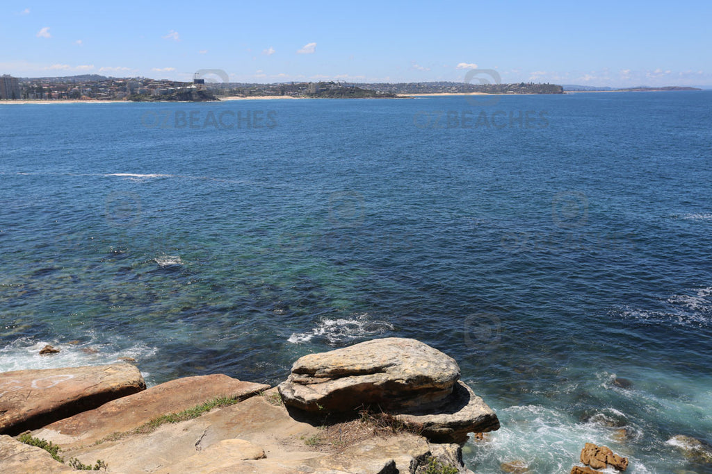 Nice spot on Manly headland to take in the sweeping views