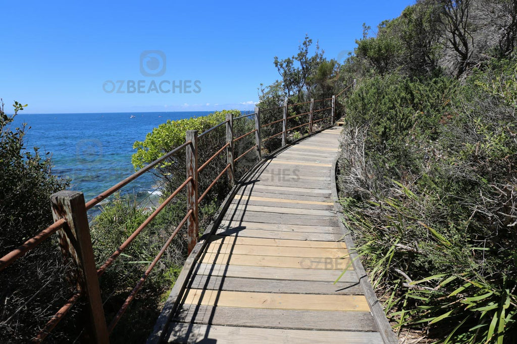 The Shelly Beach Walking Track is a great thing to do if you're in the area