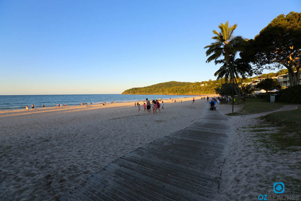 Noosa main beach boardwalk