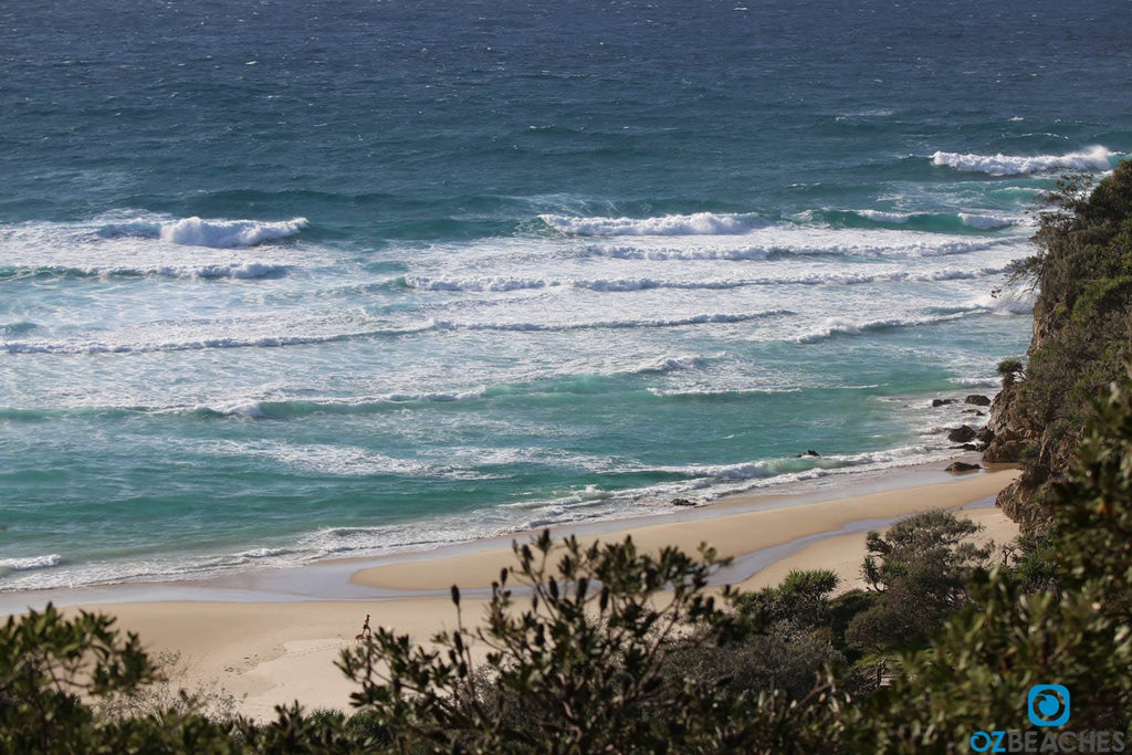 Deadmans Beach on North Stradbroke Island
