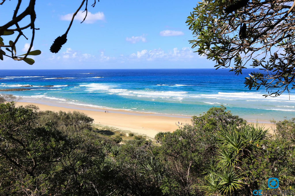 A bit of a walk down and back up but worth the trip, Frenchmans beach North Stradbroke Island QLD
