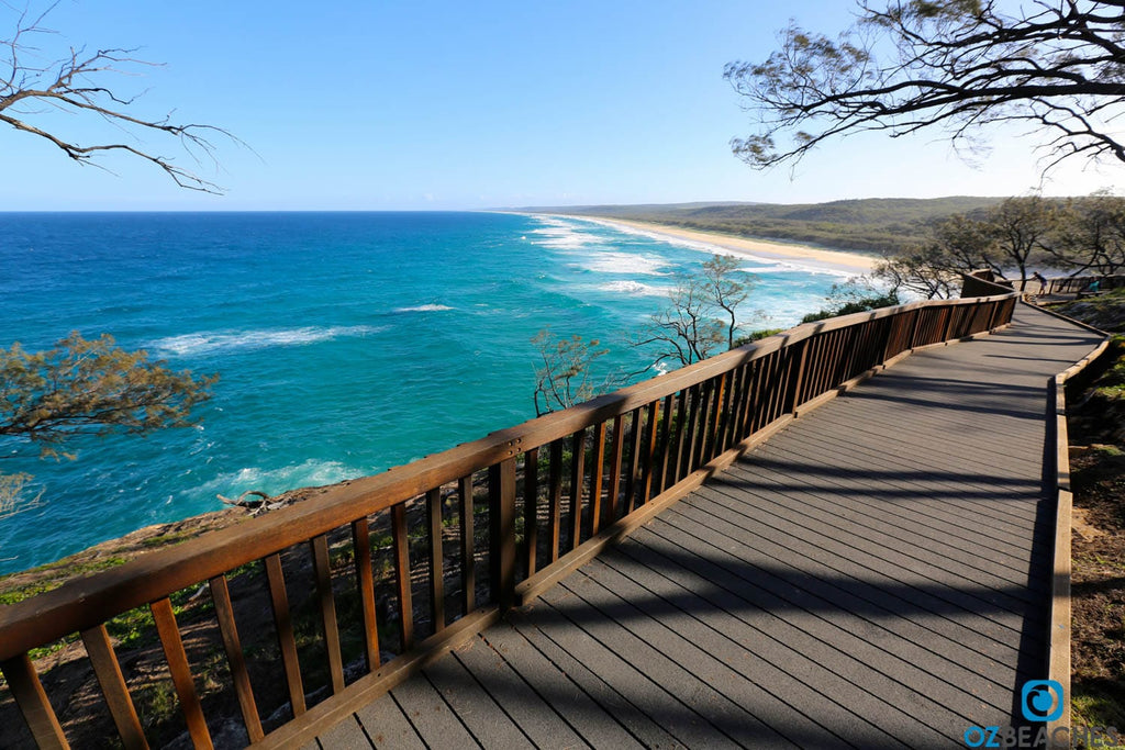 The North Gorge Walk makes for amazing views of the coastline of North Stradbroke Island