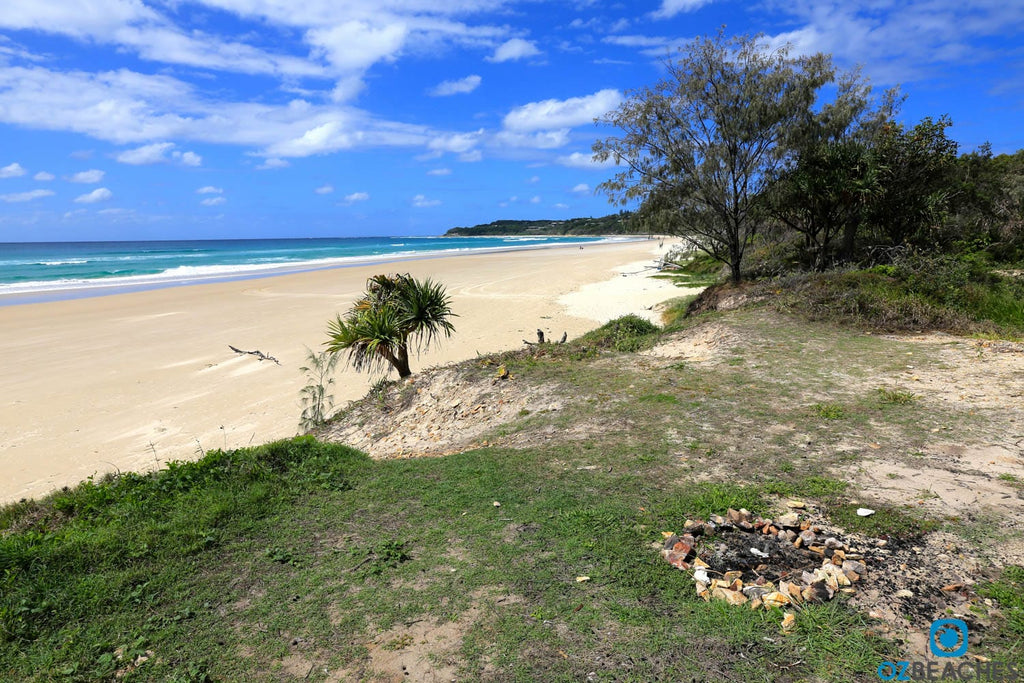 Home Beach on North Stradbroke Island is the perfect place to be alone with your thoughts