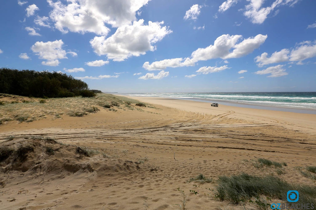 Four wheel drives are the perfect way to get around North Stradbroke Island