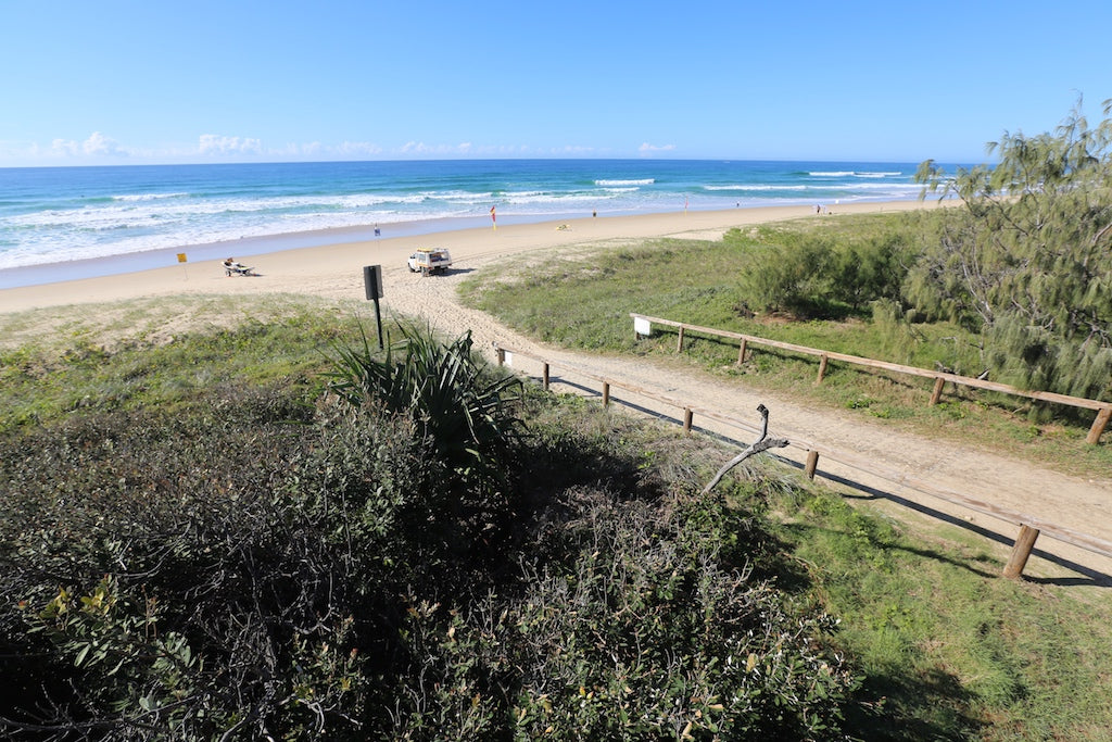 Beach access track at Peregian Beach, Sunshine Coast QLD
