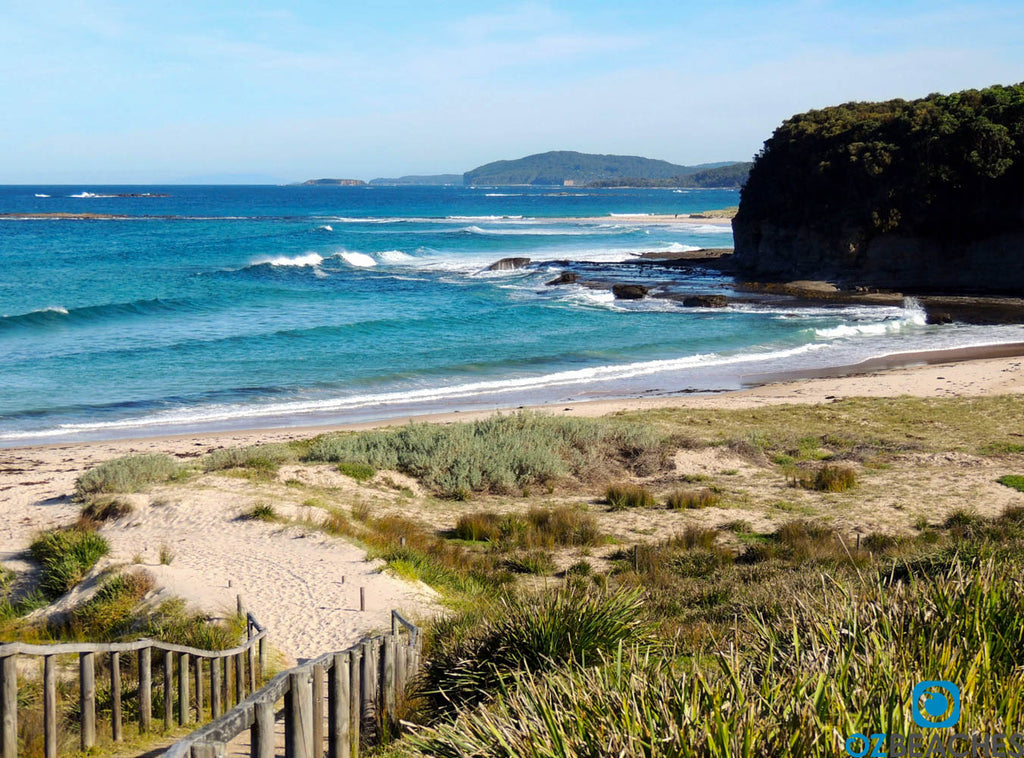 Pretty Beach NSW looking like a scene from a postcard