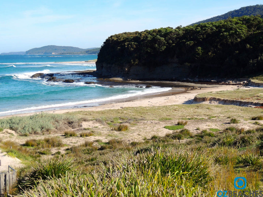 The southern corner of Pretty Beach NSW